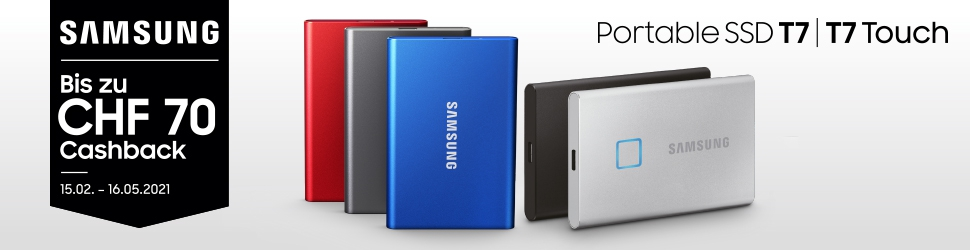 Portable SSD T7 touch